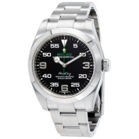 Rolex Air King 116900Black Dial Stainless Steel replica Watch